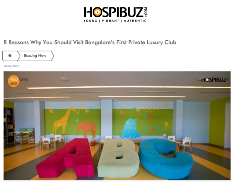 8 Reasons Why You Should Visit Bangalore's First Private Luxury Club